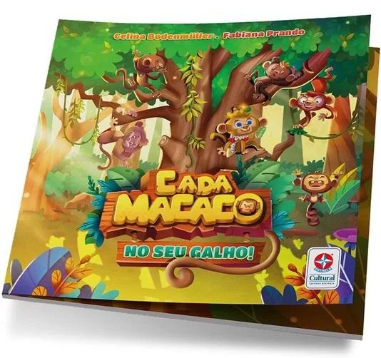 Jogo Cada Macaco No Seu Galho - Estrela Cultural