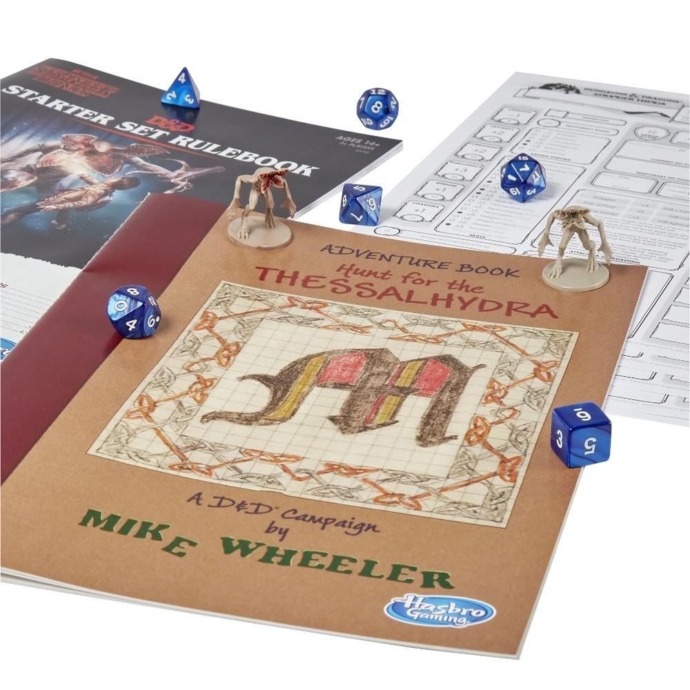 Jogo Dungeons & Dragons Starter Set Stranger Things - Hasbro Gaming