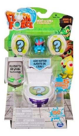 Kit 2 Flush Force - Sunny  e 5 Transforsmers Botbots - Hasbro