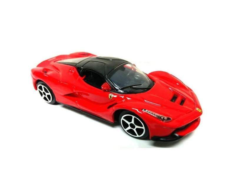 Kit Ferrari LaFerrari + 488 GTB + 488 Pista Burago Race & Play escala 1/64