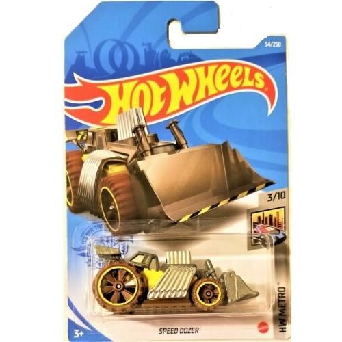 Kit Hot Wheels HW Dodge Van, Bmw, Speed Dozer - Mattel
