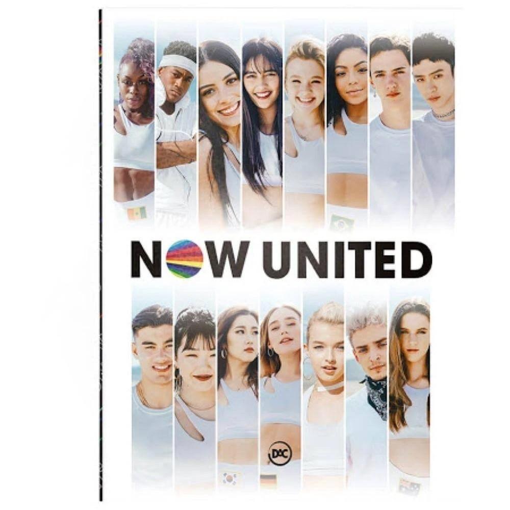 Kit Mochila Branca e Pasta Catálogo Now United - DAC