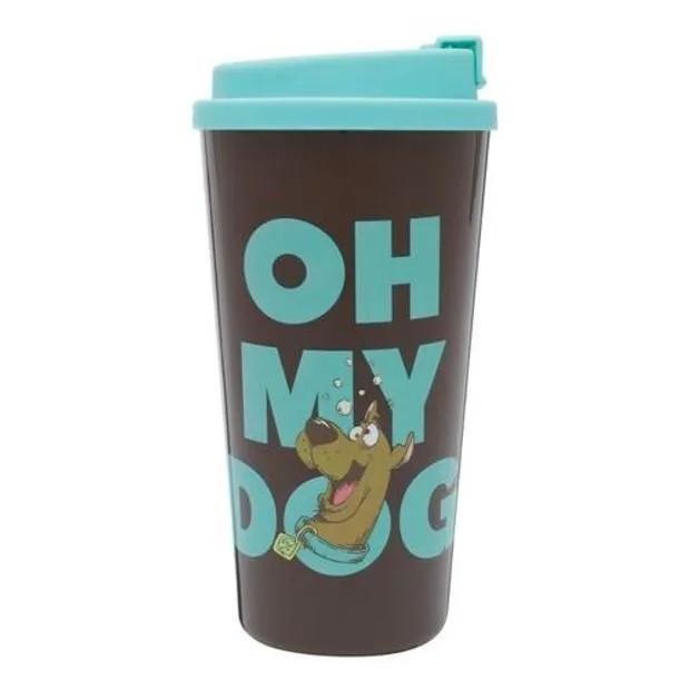 Kit Mochila e Copo Plástico Scooby-Doo! - Xeryus Kids