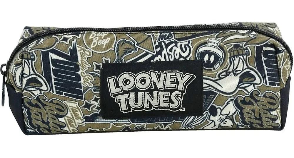 Kit Mochila e Estojo Looney Tunes - Xeryus Kids