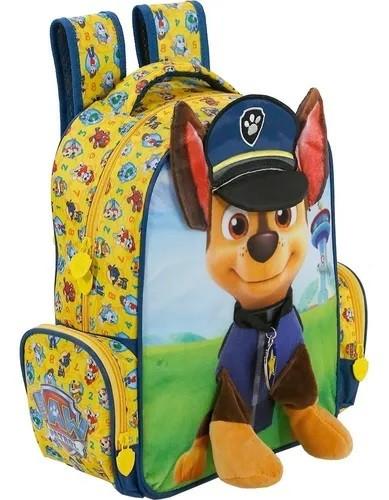 Kit Mochila e Lancheira Patrulha Canina - Xeryus Kids