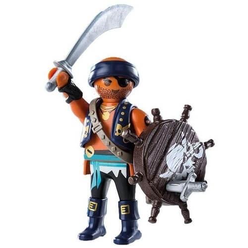 Kit Playmobil Piratas 42 Peças - Sunny