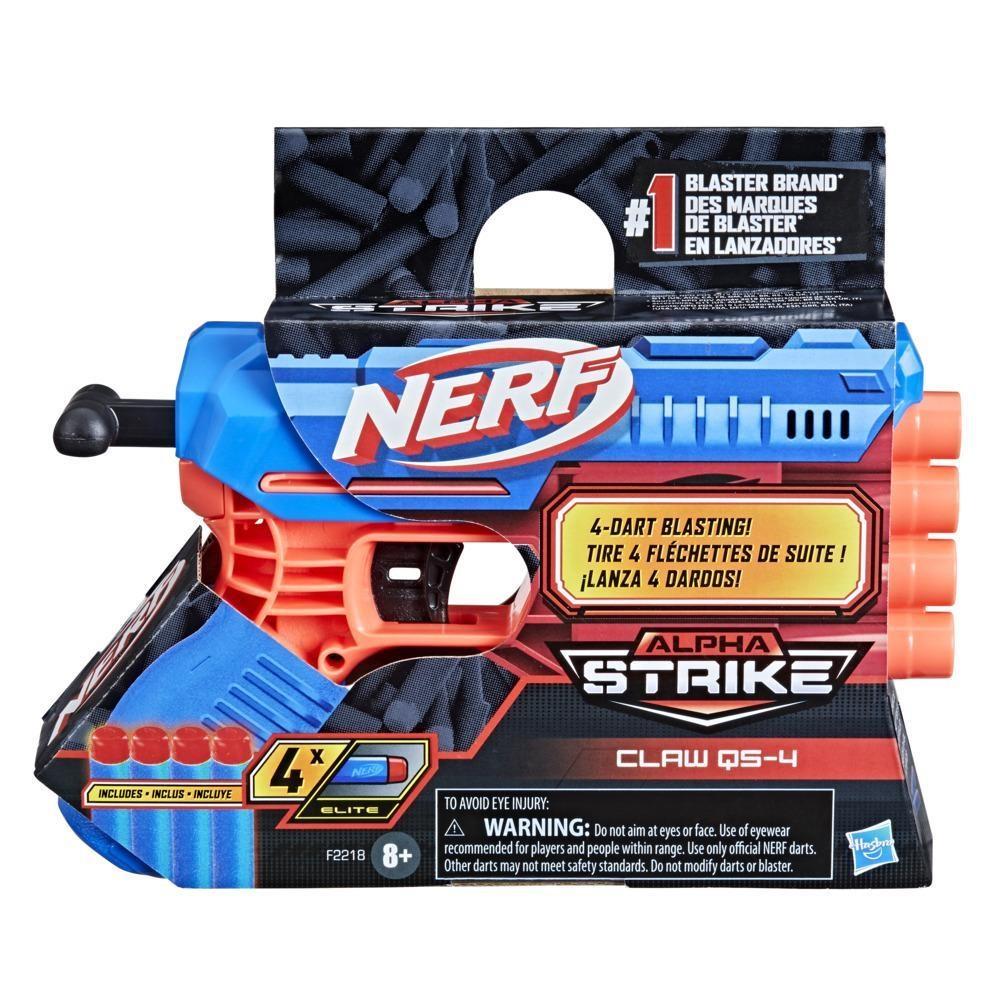 Lança Dardos Nerf Alpha Strike Claw QS-4