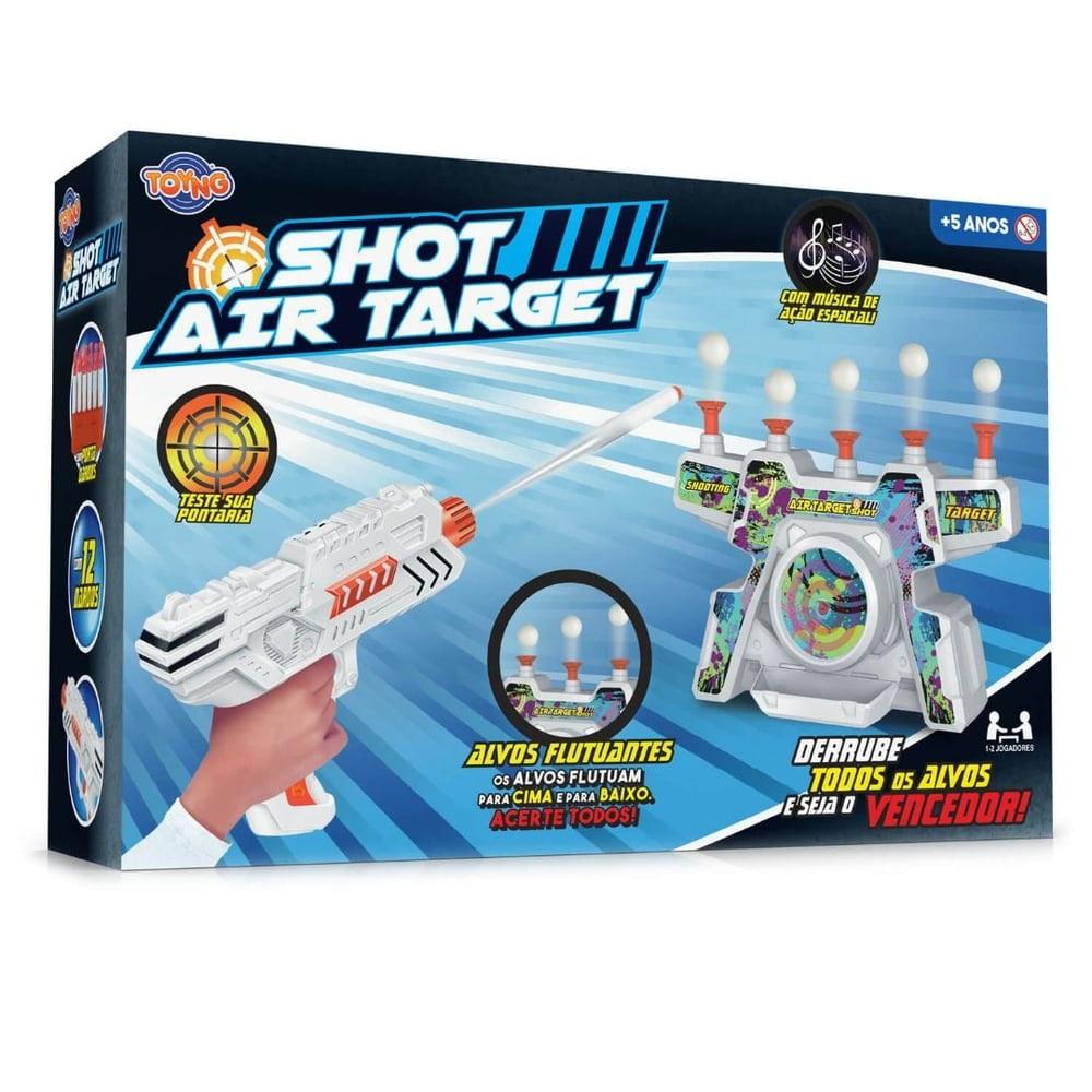 Lançador de Dardos Shot Air Com Alvos Flutuantes - Toyng