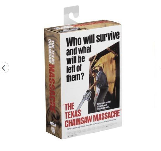 Leatherface Ultimate O Massacre da Serra Elétrica  Neca