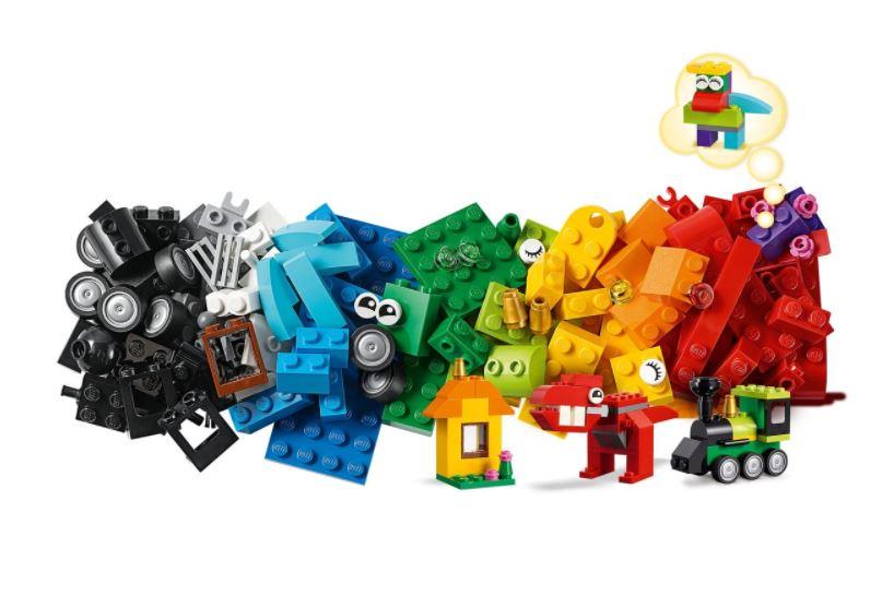 Lego Classic Peças e Ideias 11001 123 Peças