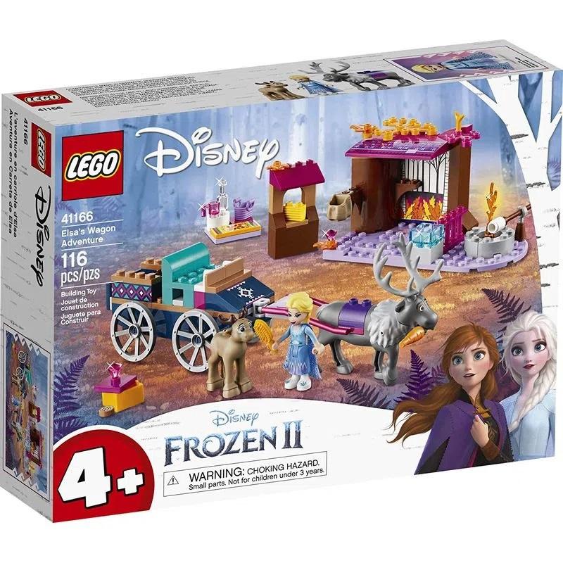 Lego Disney Frozen Elsa Aventuras na Caravana - 41166
