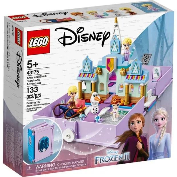Lego Disney Frozen Livro de História e Aventuras da Anna e da Elsa - 43175