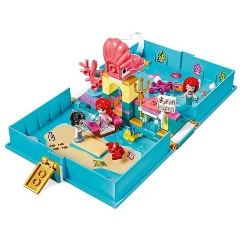Lego Disney Livro de História e Aventuras da Ariel - 43176