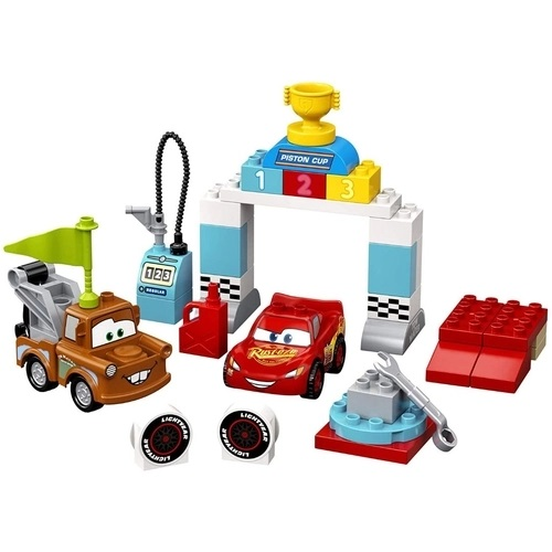 Lego Duplo Disney Cars Dia da Corrida Mcqueen - 10924