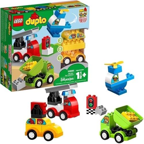 Lego Duplo Minha Primeira Criação de Carro - 10886