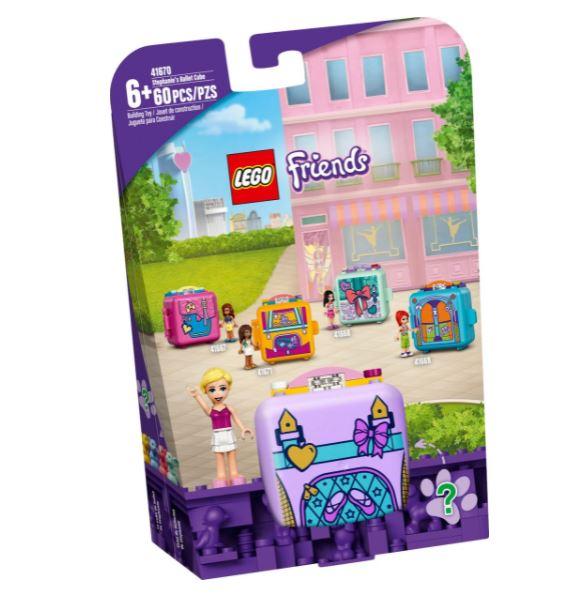 Lego Friends Cubo de Balé da Stephanie 41670 60 Peças