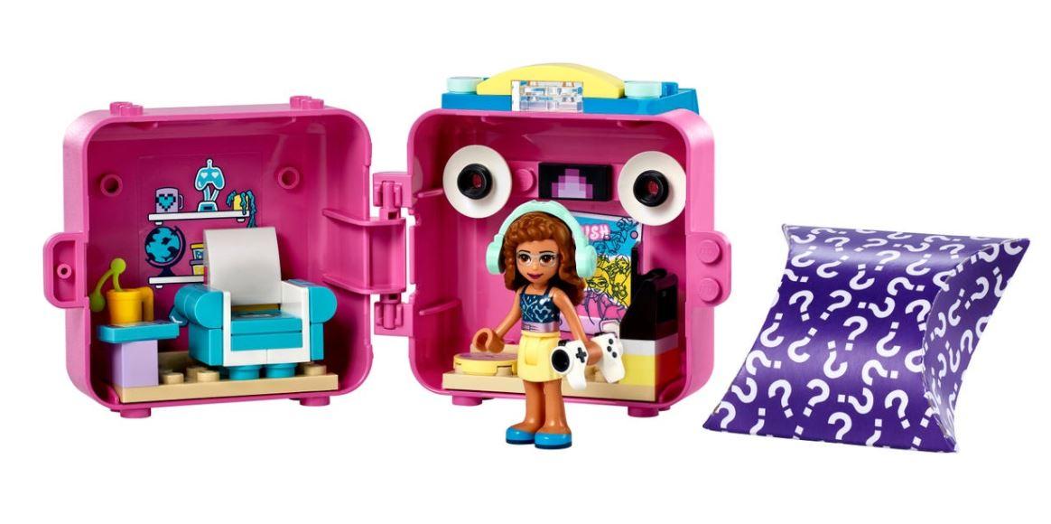 Lego Friends Cubo de Jogo da Olívia 41667 64 Peças