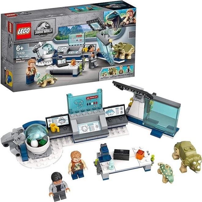 Lego Jurassic World Laboratório Do Dr. Wu - 75939