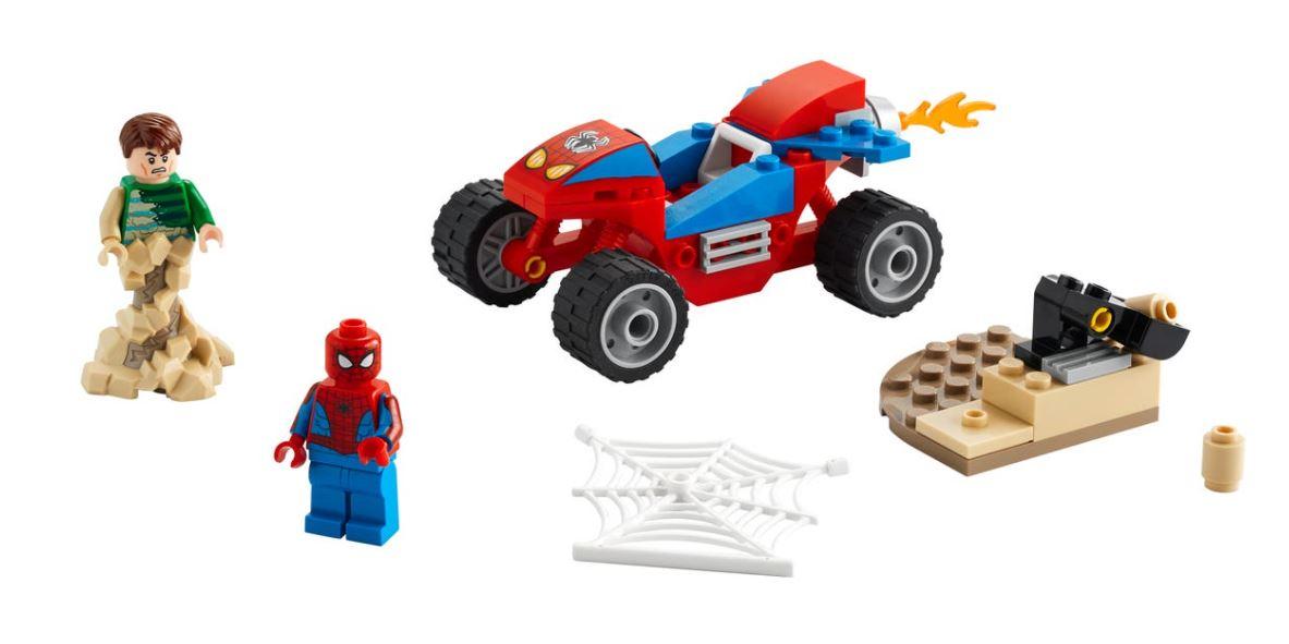 Lego Marvel Confronto Homem-Aranha e Homem-Areia 76172 45 Pcs