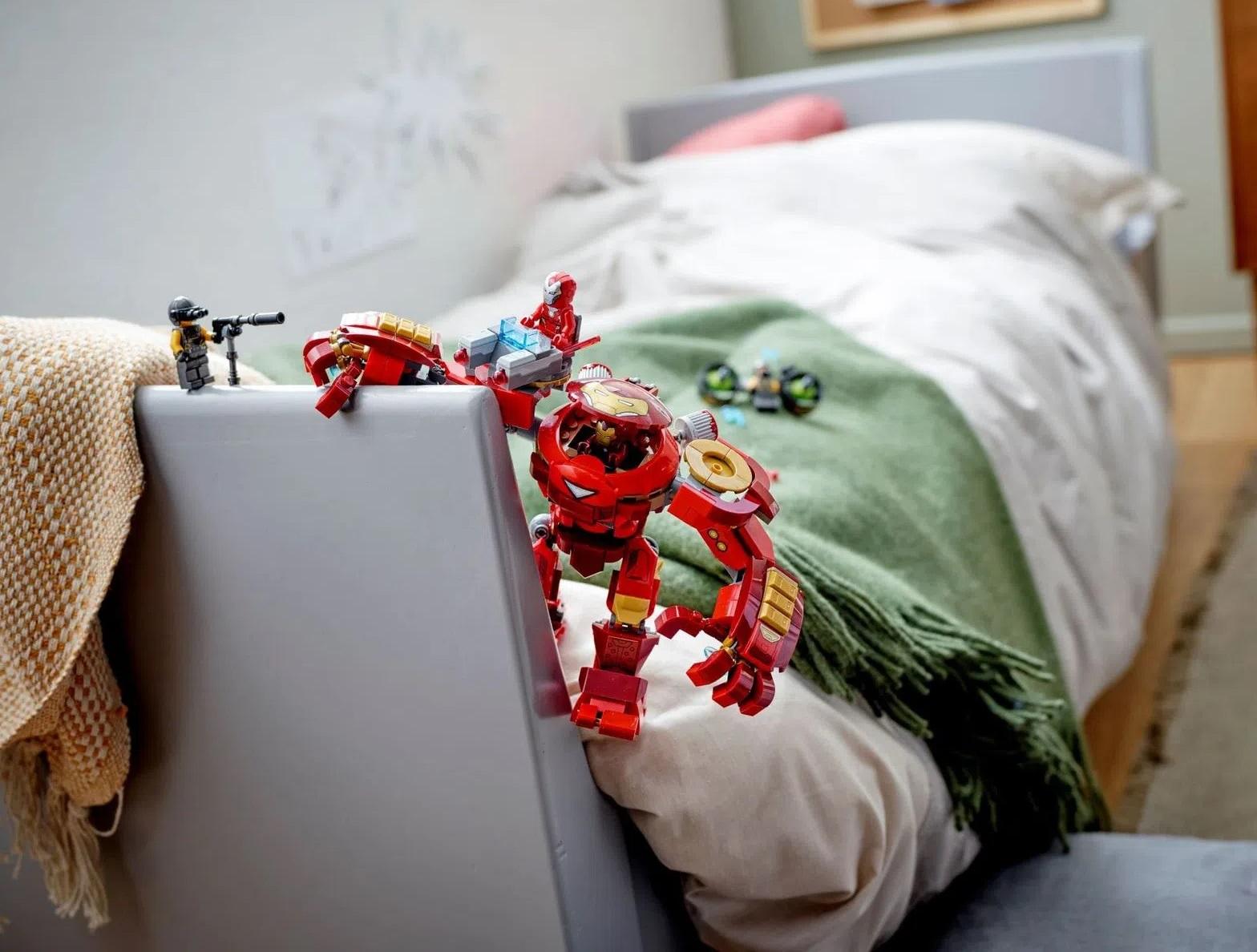 Lego Marvel Homem de ferro Hulkbuster Contra Agentes A.I.M - 76164