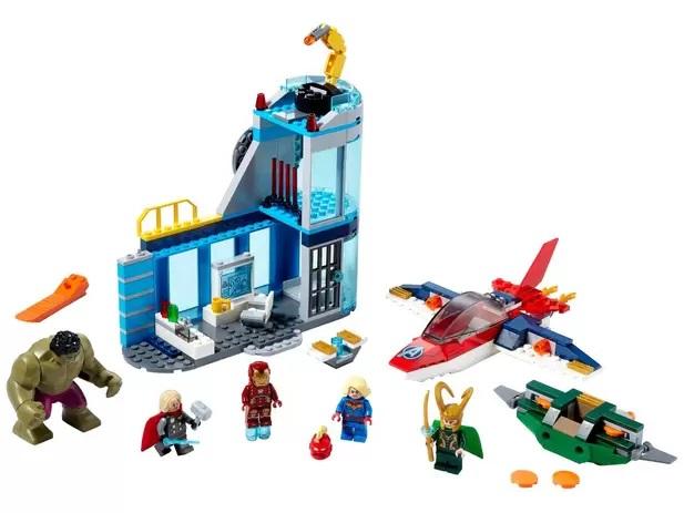 Lego Marvel Vingadores Fúria de loki - 76152