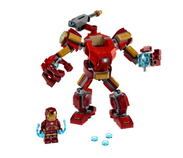 Lego Marvel Vingadores Homem de Ferro Armadura Robô 76140 148 Peças