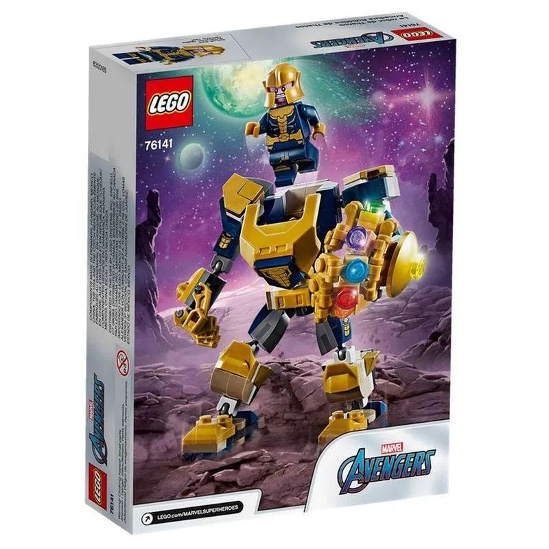 Lego Marvel Vingadores Thanos Robô - 76141
