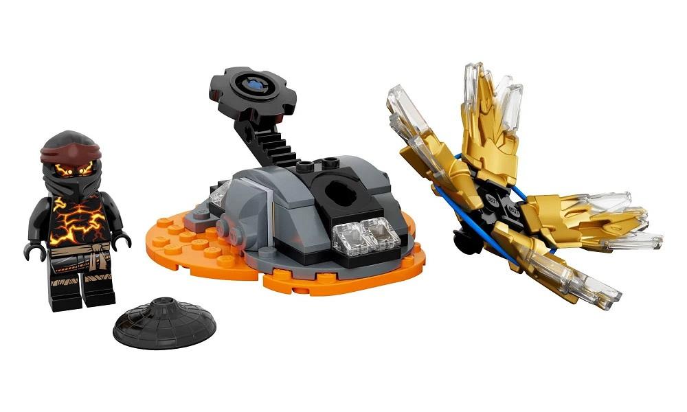 Lego Ninjago Cole Rajada de Spinjitzu 48 Peças - 70685