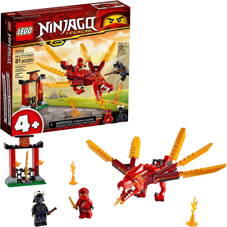 Lego Ninjago Legacy Dragão De Fogo Do Kai 81 Peças - 71701