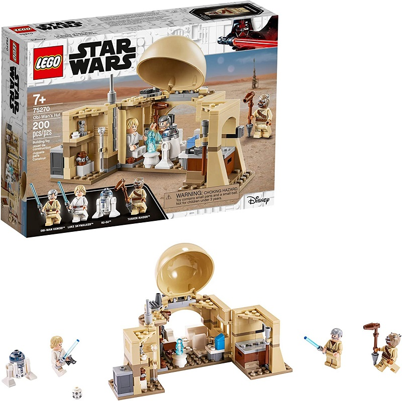 Lego Star Wars Cabana do Obi-Wan - 75270