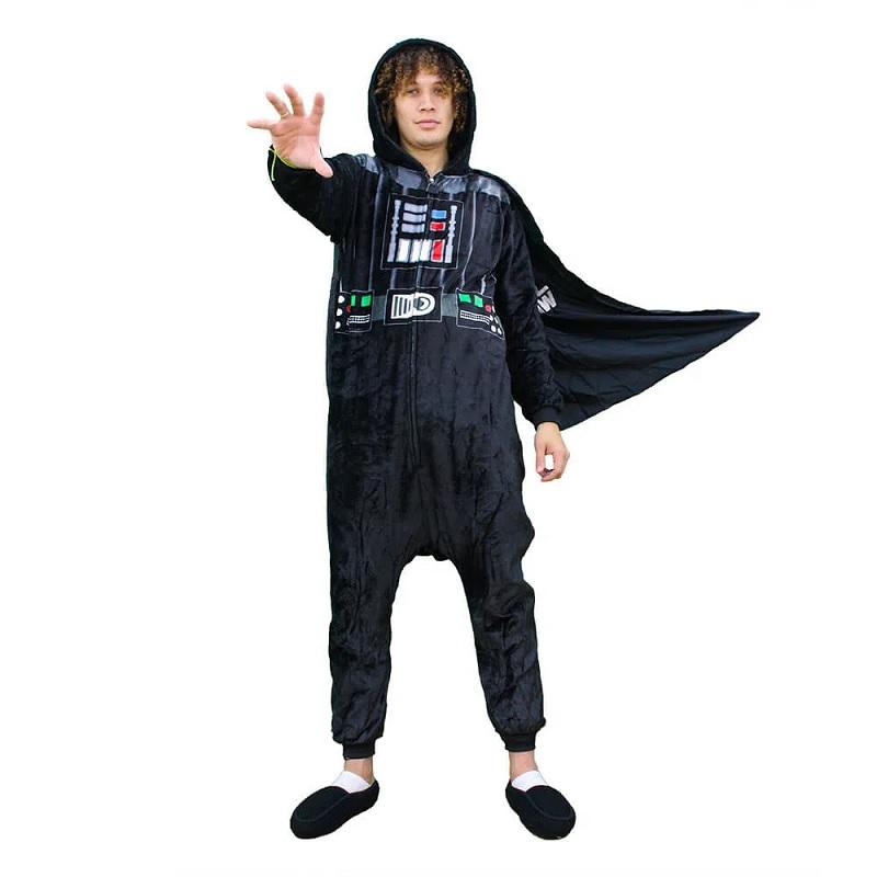 Macacão Kigurumi tamanho M Darth Vader - Zonacriativa