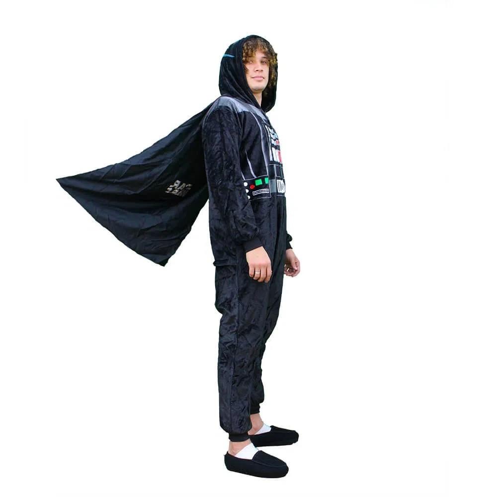 Macacão Pijama Star Wars Darth Vader Produto Oficial - Zona Criativa