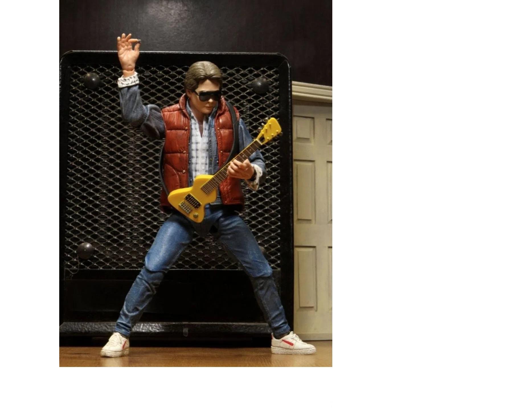 Marty Mcfly Action Figure Neca De Volta Para o Futuro 35 anos