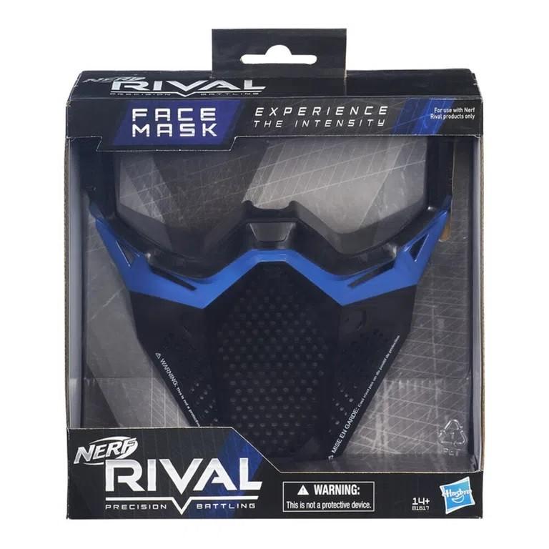 Máscara Nerf Rival Equipe Azul - Hasbro