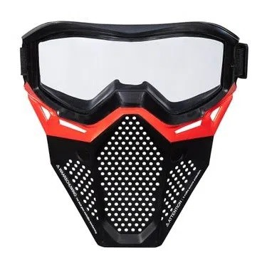 Máscara Nerf Rival Equipe Vermelha - Hasbro