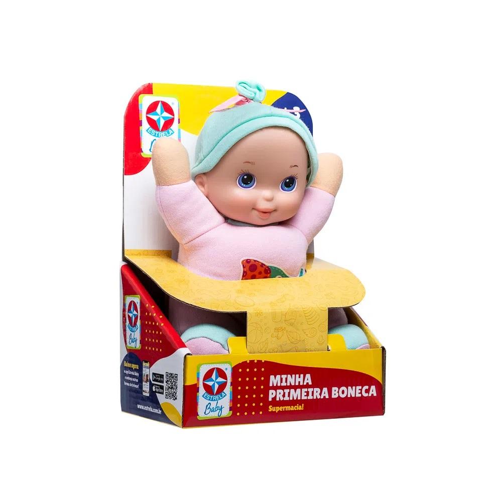 Minha Primeira Boneca Estrela Baby 1001101400028