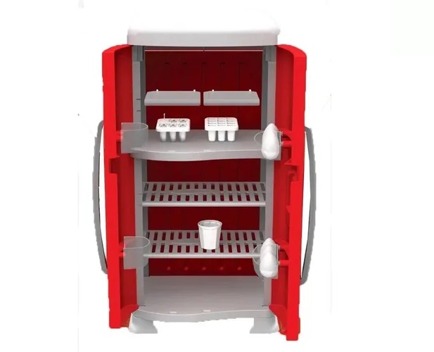 Mini Chef Fun Geladeira Refrigerador- Xalingo