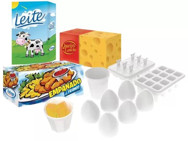 Mini Chef Fun Geladeira - Xalingo
