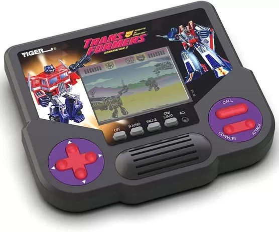 Mini Video Game Transformers Generation 2 - Tiger Electronics Hasbro