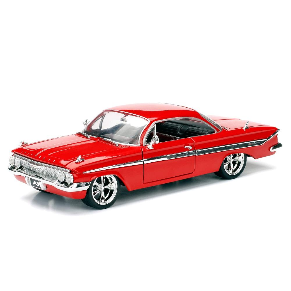 Miniatura Carro Chevy Impala Vermelho Velozes e Furiosos 1:24 Jada Toys