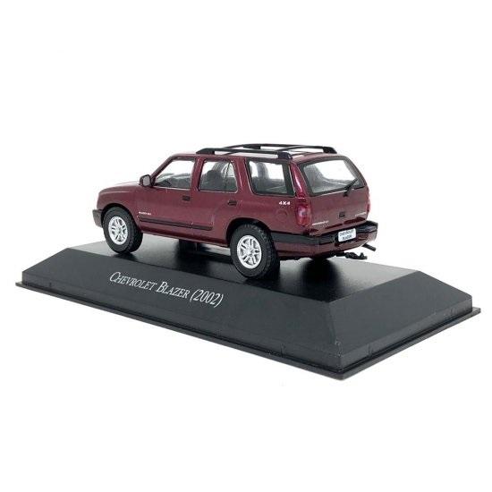 Miniatura Chevrolet Blazer (2002) Carros Inesquecíveis 1:43
