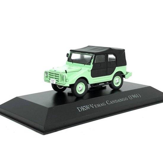 Miniatura DKW-Vemag Candango 1961 Carros Inesquecíveis 1:43