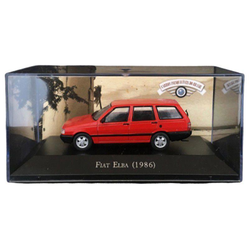 Miniatura Fiat Elba (1986) Carros Inesquecíveis 1:43