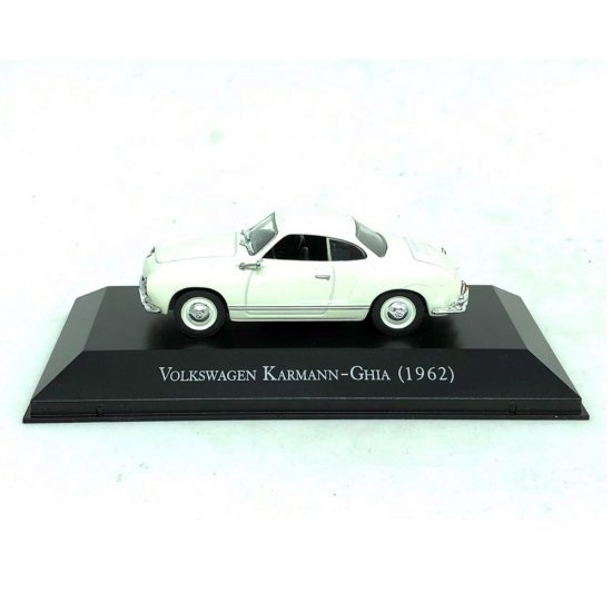 Miniatura Karmann-Ghia (1962) Carros Inesquecíveis 1:43