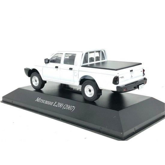 Miniatura Mitsubishi L200 (2007) Carros Inesquecíveis 1:43