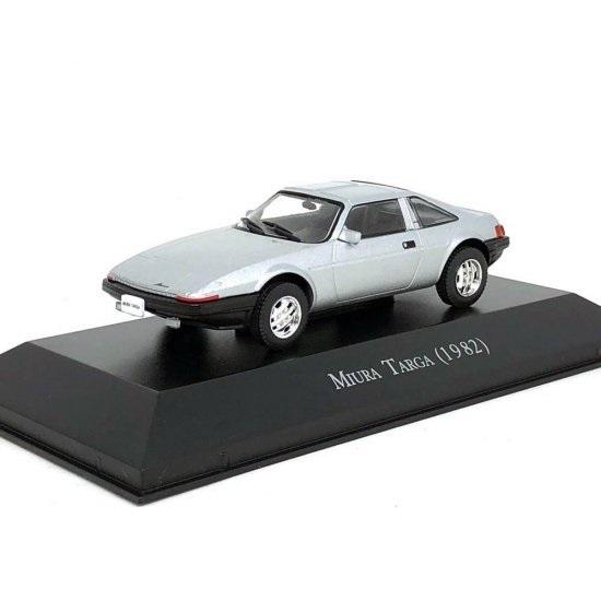Miniatura Miura Targa (1982) Carros Inesquecíveis 1:43