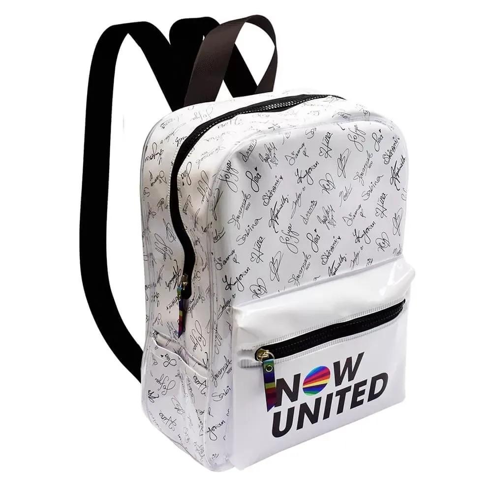 Mochila Branca Now United - Dac - 3359
