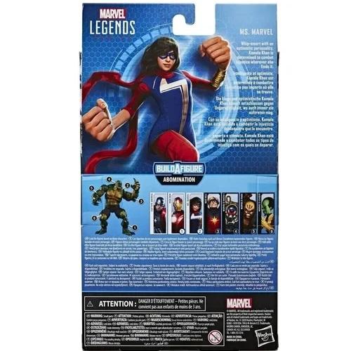 Ms. Marvel Build a Figure  Gamerverse Marvel Legends - Hasbro