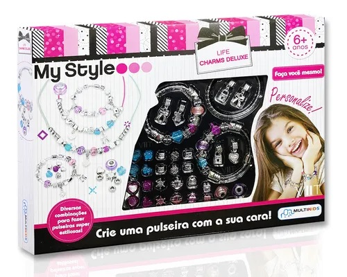 My Style Life Charms Deluxe Multikids BR1276