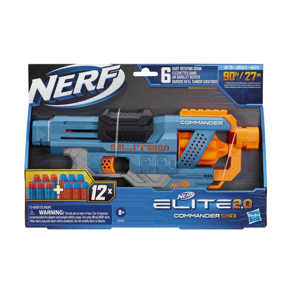 Nerf Elite 2.0 Commander RD-6 Hasbro